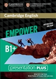 Cambridge English Empower B1+ Intermediate Presentation Plus DVD-Rom