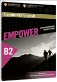 Cambridge English Empower B2 Upper Intermediate Teacher's Book