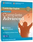 Complete Advanced Second Edition Workbook without...