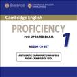 Cambridge English Proficiency 1 Audio CD for updated exam