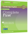 Complete First Second Edition Teacher's Book and CD-Rom