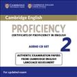 Cambridge English Proficiency 2 Audio CD for updated exam