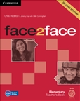 Face2Face Elementary Second Edition Teacher's Book with DVD
