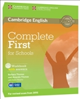Complete First for Schools Workbook with answers with...