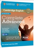 Complete Advanced Second Edition Presentation Plus DVD-ROM (2015 Exam)