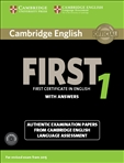 Cambridge English First 1 Student's Book with Answers...