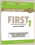Cambridge English First 1 Student's Book without...