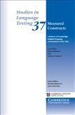 Studies in Language Testing 36 Measured Constructs Paperback