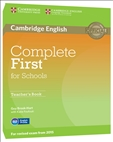 Complete First for Schools Teacher's Book (2015 Exam)