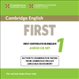 Cambridge English First 1 Audio CD for Revised 2015 Exam