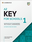 Cambridge A2 Key for Schools 1 Student's Book without...
