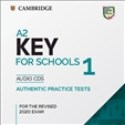 Cambridge A2 Key for Schools 1 Audio CD for Revised 2020 Exam