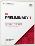 Cambridge B1 Preliminary 1 Student's Book without...