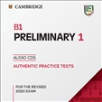 Cambridge B1 Preliminary 1 Audio CD for Revised 2020 Exam