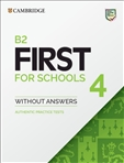 Cambridge B2 First for Schools Student's Book without Answers