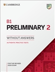Cambridge B1 Preliminary 2 Student's Book without...