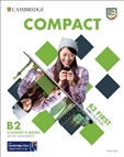 Compact B2 First Third Edition Student's Book with Answers