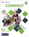 Compact B2 First Third Edition Student's Book Pack