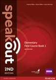 Speakout Elementary Second Edition Flexi Student's Book 1 with DVD-Rom