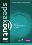 Speakout Starter Second Edition Flexi Student's Book 2 with DVD-Rom