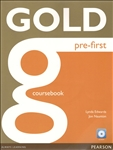 Gold Pre-First Coursebook with CD-Rom