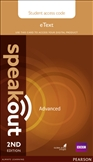 Speakout Advanced Second Edition eText Student's Access Code Card