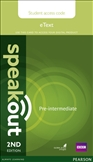 Speakout Pre-intermediate Second Edition eText...