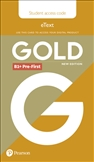 Gold B1+ Pre-First New Edition Student's eText Access Code Only