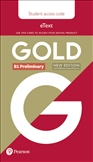 Gold B1 Preliminary New Edition Student's eText Access Code Only