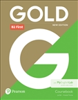 Gold B2 First New Edition Student's Book with MyLab