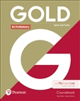 Gold B1 Preliminary New Edition Student's Book with MyEnglishLab
