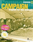 Campaign: English for the Military 3 Workbook Including Audio CD