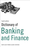 Dictionary of Banking and Finance Fourth Edition
