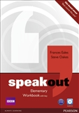 Speakout Elementary Workbook with key and CD Pack
