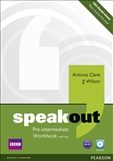 Speakout Pre-intermediate Workbook with Key and CD Pack