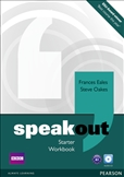 Speakout Starter Workbook without Key and CD pack