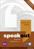 Speakout Advanced Workbook with Key and CD pack