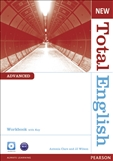 New Total English Advanced Workbook with Key & CD Pack