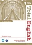 New Total English Intermediate Workbook with Key & CD Pack