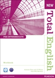 New Total English Pre-intermediate Workbook without Key & CD Pack