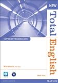 New Total English Upper Intermediate Workbook with Key & CD Pack