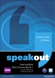 Speakout Intermediate Flexi Student's Book 1 with DVD-Rom