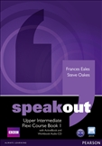 Speakout Upper Intermediate Flexi Student's Book 1 with DVD-Rom
