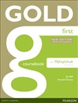 Gold First New Edition Student's Book with FCEMyLab (2015 Exam)