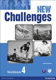 New Challenges 4 Workbook with Audio CD