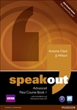 Speakout Advanced Flexi Student's Book 1 with DVD-Rom