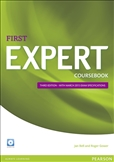 First Expert Third Edition Coursebook plus Audio CD's