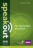 Speakout Pre-intermediate Second Edition Active Teach CD-Rom