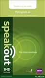 Speakout Pre-intermediate Second Edition MyEnglishLab...