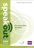 Speakout Pre-intermediate Second Edition Workbook with Key